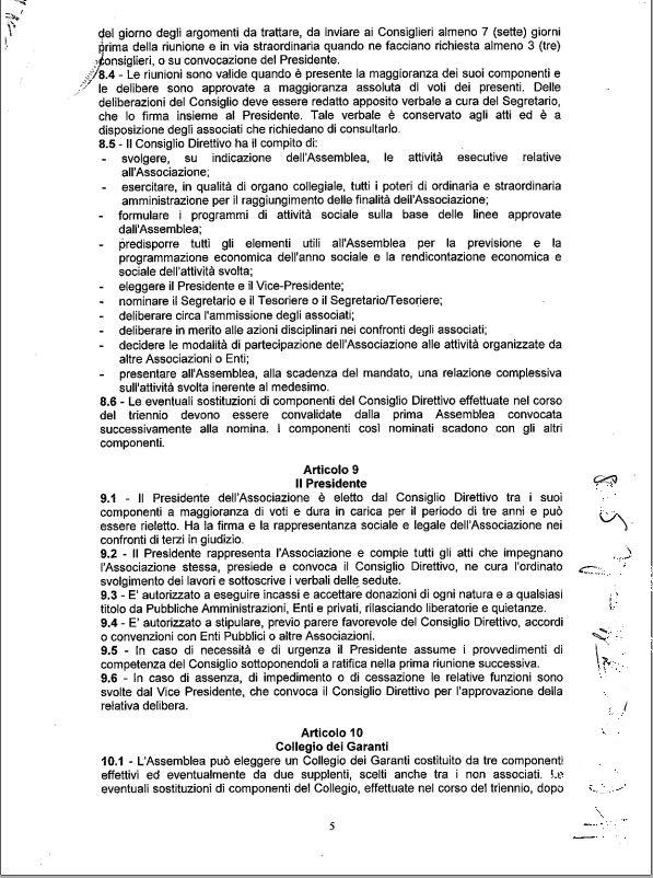 5 Statuto scan - Associazione ViviAdriano