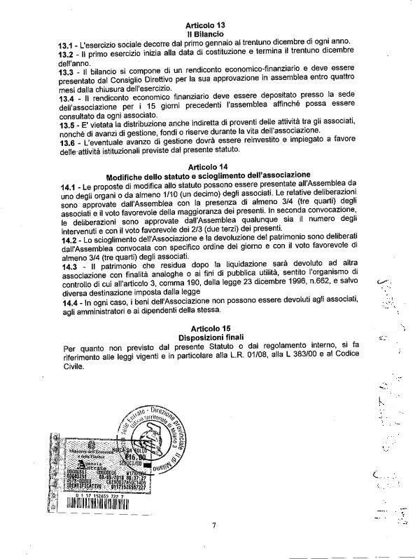 7 Statuto scan - Associazione ViviAdriano