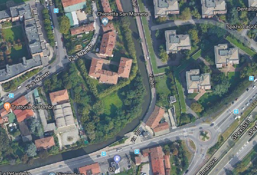 Via Idro satellite Google - Associazione ViviAdriano