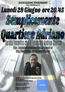 Evento di Andrea Cherchi 29 giugno 2020 locandina - Associazione ViviAdriano.jpg