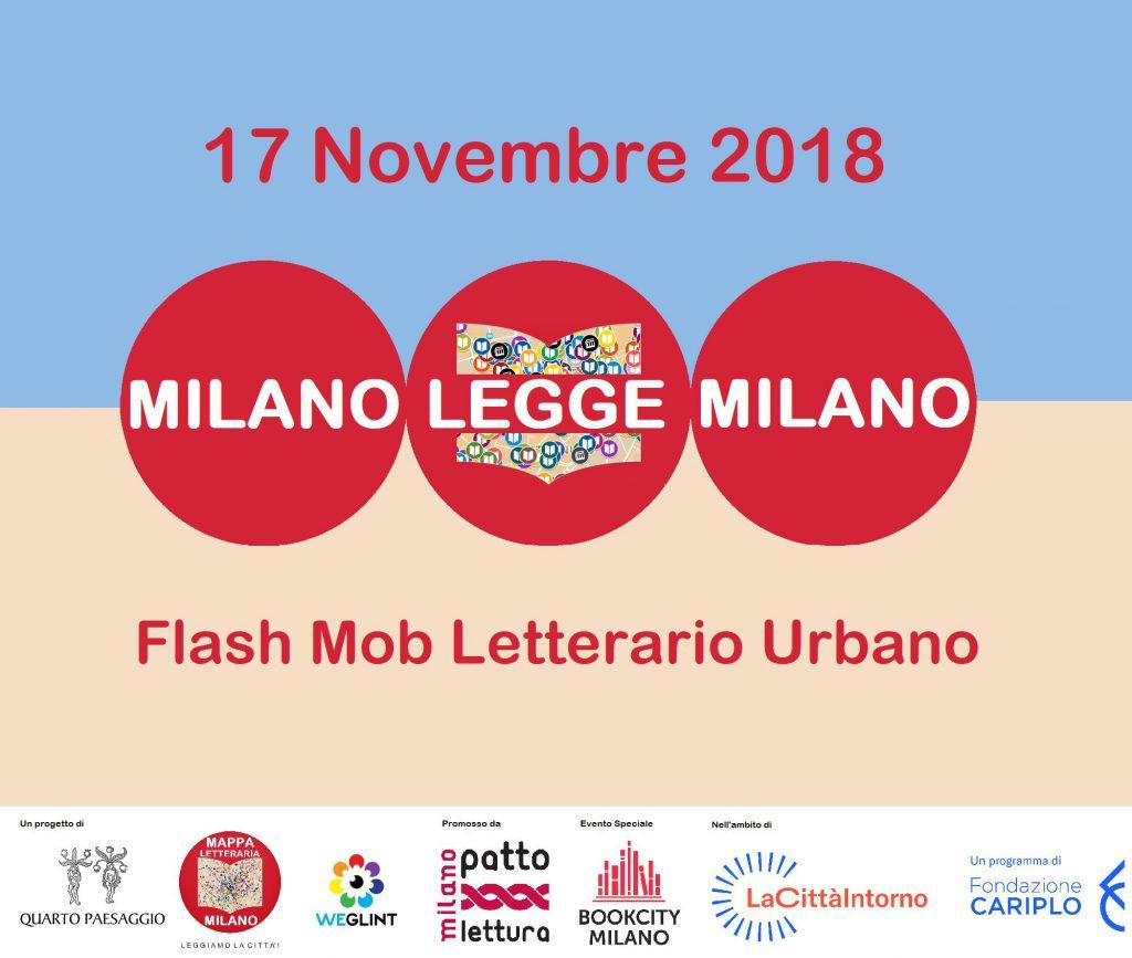 Flashmob Milano Legge Milano novembre 2018 locandina - Associazione ViviAdriano