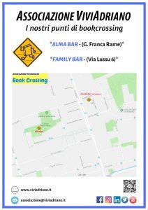 Mappa Bookcrossing giugno 2020 locandina - Associazione ViviAdriano