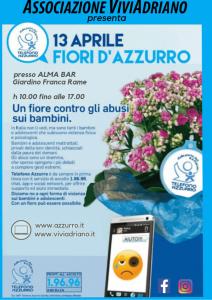 Telefono Azzurro aprile 2019 locandina - Associazione ViviAdriano