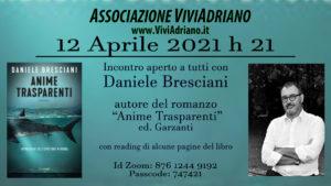 Incontro con Daniele Bresciani 12 Aprile 2021