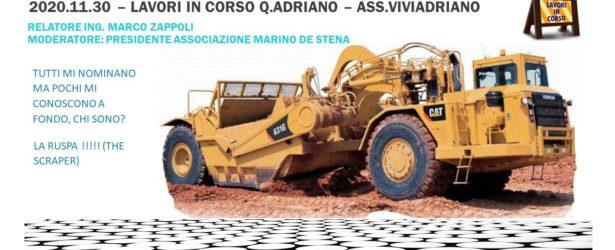 30 Novembre 2020 – Situazione lavori in Q.re Adriano